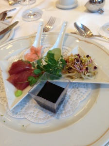 gala dinner, the starter