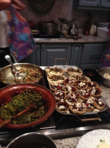 some of the dishes that were cooked