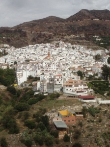One of the Axarquia villages, in the hills away from Malaga