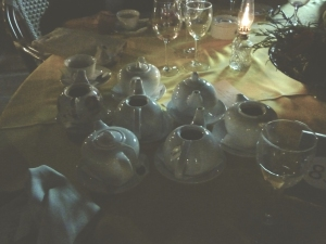 Too many tea pots and not enough cups!